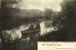 Cpa LUXEMBOURG - MONDORF-LES-BAINS, Vue Vers Le Nouveau Parc, NELS Couleur - Mondorf-les-Bains