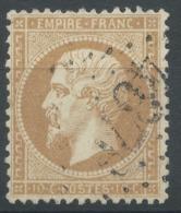 Lot N°51449  Variété/n°21, Oblit GC 4378 Puget-de-Frejus, Var (78), Ind 28 Ou Heming, Meurthe (52), Ind 13, Filet SUD - 1862 Napoleon III