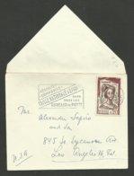 N° 1301 - 0.20 Champmeslé / Imprimé / PARIS 02.09.1961 >>> USA - 1961-....