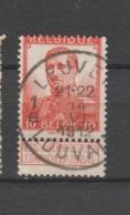 COB 111 Oblitération Centrale LOUVAIN - LEUVEN 1B - 1912 Pellens