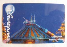 BILLET D'ENTREE CARTE PASS WALT DISNEY PARC EURODISNEY 003 DISNEYLAND PARIS HAUTE Saison - Tickets - Entradas