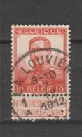COB 111 Oblitération Centrale LA LOUVIERE 1A - 1912 Pellens