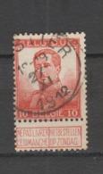 COB 111 Oblitération Centrale MOUSTIER - 1912 Pellens