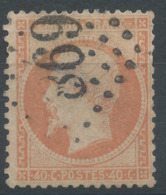 Lot N°51450  Variété/n°23, Oblit GC 869 Champrond, Eure-et-Loir (27), Ind 8, Filet OUEST Absent - 1862 Napoleon III