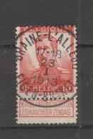 COB 111 Oblitération Centrale BRAINE-L'ALLEUD EIGEN-BRAKEL - 1912 Pellens