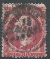 Lot N°51451  N°24, Oblit GC Et Cachet à Date à Déchiffrer - 1862 Napoleon III