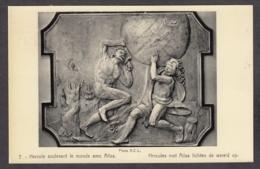 104049/ MACHELEN, Kasteel Beaulieu, Hercules Met Atlas Lichten De Wereld Op, Château De Beaulieu - Machelen