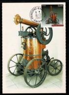 ANDORRA ANDORRE Carte Maximum Voiture PINETTE De 1883 édition Musée Automobile D' ENCAMP 10-7-2007 SUPERBE 2 Scan - Cartoline Maximum