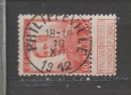COB 111 Oblitération Centrale PHILLIPEVILLE - 1912 Pellens