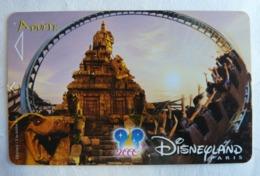 BILLET D'ENTREE CARTE PASS WALT DISNEY PARC EURODISNEY 012 DISNEYLAND INDIANA JONES - Tickets - Vouchers