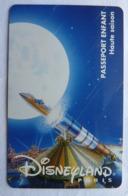 BILLET D'ENTREE CARTE PASS WALT DISNEY PARC EURODISNEY 013 DISNEYLAND SPACE MOUNTAINS - Tickets - Vouchers