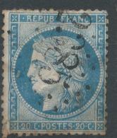 Lot N°51454  Variété/n°37, Oblit GC 2385 Molliens-Vidame, Somme (76), Ind 7, Filet OUEST - 1870 Siège De Paris