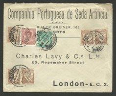 Lettre - Cover / PORTO 23.12.1937 >>> LONDON - 1910-... République