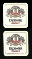Sotto-boccale O Sottobicchiere - Erdinger 3  - Birra - Bier - Beer Mats - Sous Bocks - Bierdeckel - Pils - Beer - Bierdeckel