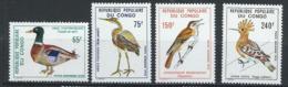 Congo - Brazzaville YT PA 239-242 XX / MNH Oiseau Bird Animal Wildlife - Congo - Brazzaville