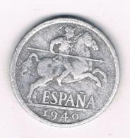 10 CENTIMOS 1940 SPANJE /8575/ - [ 4] 1939-1947 : Nationalist Government