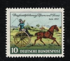 1952 25. Okt. Tag Der Briefmarke Mi DE 160  Sn DE 692 Yt DE 47 Sg DE 1086 AFA DE 1123 Postfr. Xx - [7] République Fédérale