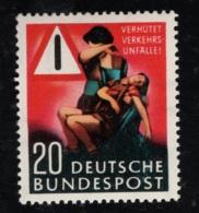1953 30. März Unfallverhütung Mi DE 162 SnDE 694 Yt DE 48 Sg DE 1088 AFA DE 1125 Postfr. Xx - [7] République Fédérale