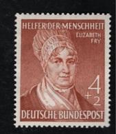 1952 1. Okt. Wohlfahrt Mi DE 156 Sn DE B327 Yt DE 42 Sg DE 1082 AFA DE 1119 Postfr. Xx - [7] République Fédérale