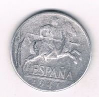 10 CENTIMOS 1941 SPANJE /8576/ - [ 4] 1939-1947 : Nationalist Government