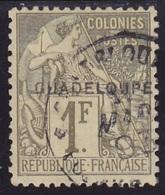 Guadeloupe N° 26 Oblitéré - Voir Verso & Descriptif - - Guadeloupe (1884-1947)