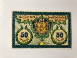 Allemagne Notgeld Grafenthal 50 Pfennig - [ 3] 1918-1933: Weimarrepubliek