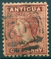 Antigua - 1884 - Yt 13 - Victoria - * Oblitéré - Antigua & Barbuda (...-1981)