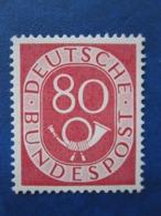 Bund Posthornmarke Mi 137 **   Postfrisch   , Prüfgarantie  ,  Einwandfrei - Ungebraucht