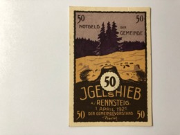 Allemagne Notgeld Jgelshieb 50 Pfennig - [ 3] 1918-1933: Weimarrepubliek