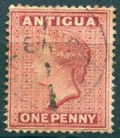 Antigua - 1884/1888 - Yt 14 - Victoria - Oblitéré - Antigua & Barbuda (...-1981)