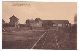 Frasnes Lez Buissenal , Station Et Dépôt Du Tram Vicinal - Frasnes-lez-Anvaing