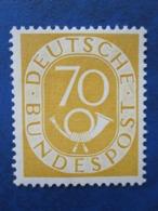 Bund Posthornmarke Mi 136 **   Postfrisch   , Prüfgarantie  ,  Einwandfrei - Ungebraucht