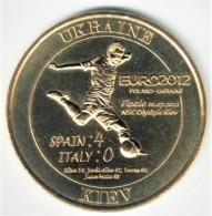 Monnaie De Paris. Football Ukraine Euro 2012- Finale 4-0 Espagne Italie. Neuve - Monnaie De Paris