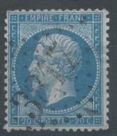 Lot N°51467  N°22, Oblit GC 3817 St-Pierre-sur-Dives, Calvados (13), Ind 4 - 1862 Napoleon III