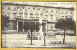 CIVITAVECCHIA - Carte Animée Peu Courante Stabilimento TRAIANO Enfants - Civitavecchia