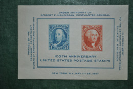 Etats-Unis 1947 Bloc MNH - Blocchi & Foglietti