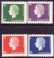 1962-63 CANADA SG #532-34 Compl.set Perf. 9½ X Imperf. MNH CV £18 - Neufs
