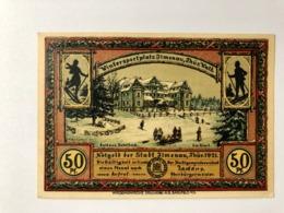Allemagne Notgeld Jlmenau 50 Pfennig - [ 3] 1918-1933: Weimarrepubliek
