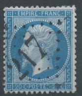 Lot N°51470  N°22, Oblit GC 217 Audincourt, Doubs (24), Ind 3 - 1862 Napoleon III