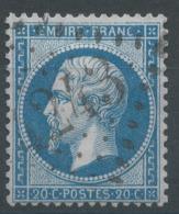 Lot N°51471  N°22, Oblit GC 4243 Villefranche-de-Rouergue, Aveyron (11), Ind 3 - 1862 Napoleon III