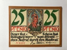 Allemagne Notgeld Kahla 25 Pfennig - [ 3] 1918-1933: Weimarrepubliek