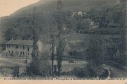 I159 - 38 - SAINT-GEORGES-DE-COMMIERS - Isère - Virage De La Souchère Et Hameau Des Guiberts - Sonstige Gemeinden