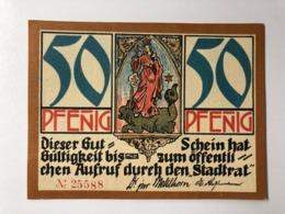 Allemagne Notgeld Kahla 50 Pfennig - [ 3] 1918-1933: Weimarrepubliek
