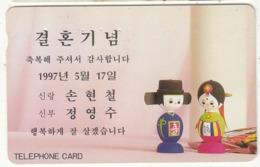 SOUTH KOREA - Boy & Girl(1997.5.17)(W3000), CN : MCPM0159703, Used - Corée Du Sud