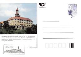 Czech Republic 1994 Postal Stationery Card: Architecture Castle Lion Eagle; NACHOD A10/94 - Architektur