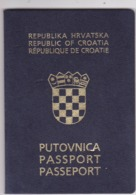 PASSPORT  --   CROATIA  --   II.   MODEL  --  2003  --  LADY  PHOTO  --  VISA MEXICO, VISIT PERMIT ISRAEL  ( BEN GURION - Historische Dokumente