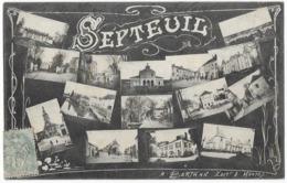 Septeuil Multivues A. Bertran Editeur à Mantes - Septeuil
