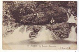 Cpa  Toulon Cascade à Dardennes - Toulon