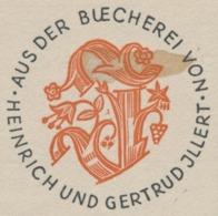 Ex Libris Heinrich Und Gertrud Illert - Hermann Huffert (1915-1995) - Ex-libris
