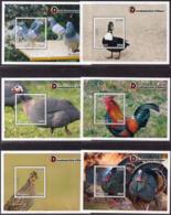 Malawi - 2018 Domesticated Birds MS Set (**) - Vögel